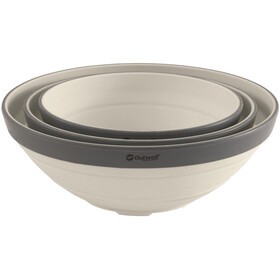 Outwell Collaps Bowl Set Cream White
